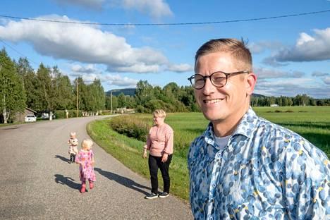 Maalla asuminen on ylitorniolaisen perheenisän Ville Impiön mukaan myös erittäin taloudellista verrattuna kaupunkiasumiseen.