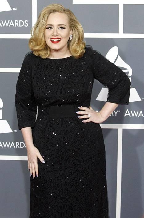 Adele vuoden 2012 Grammy-gaalassa.