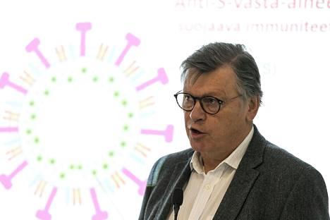 Virusopin professori Ilkka Julkunen pitää ajatusta koko väestön testaamisesta järjettömänä.