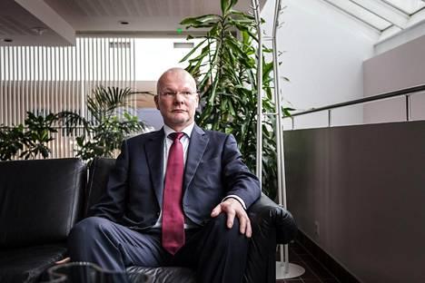 SUL:n puheenjohtaja Vesa Harmaakorpi. Kuva vuodelta 2014.