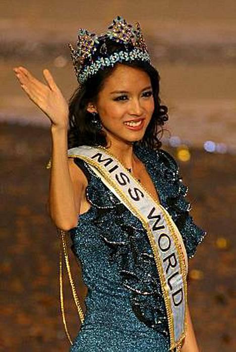 Kiinan Zhang Zi Lin valittiin maailman kauneimmaksi.