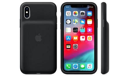 Osa Applen 150 euron arvoisista älykoteloista on viallisia. Kuvassa iPhone XS:n malli.
