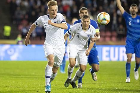 Rasmus Karjalainen siirtyi kesken kauden Kuopiosta Sittardiin.
