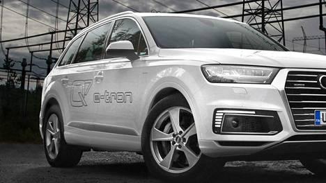 Huollon yhteydessä ajettu koeajo tapahtui Audi Q7 e-tronilla. Kuvassa vastaava malli.