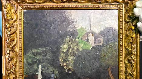 Henri Matissen Le Jardin palasi takaisin.