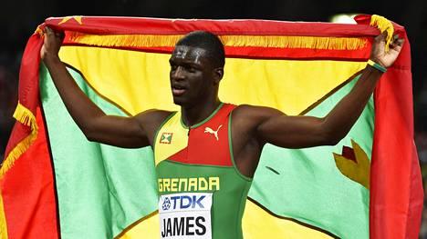 Kirani James voitti olympiakultaa vuonna 2012. Arkistokuva.