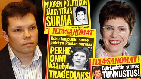 Jarmo Björkqvist murhasi vaimonsa Paula Björkqvistin perheen yhteisessä Jämsän-kodissa heinäkuussa 2006. Nyt hän on pääsemässä vapauteen.