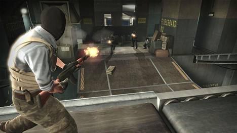 CS:GO on vuonna 2012 julkaistu taktinen räiskintäpeli. Kilpaotteluissa pelaa vastakkain kaksi viiden hengen joukkuetta.