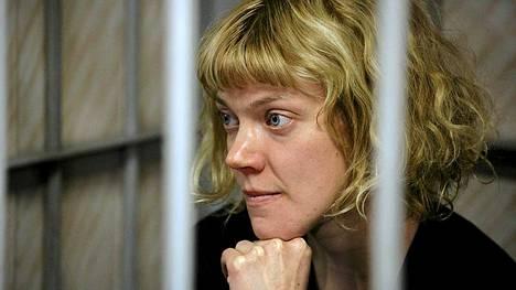 Suomalainen Greenpeace-aktivisti Sini Saarela joutui tutkintavankeuteen Venäjällä.