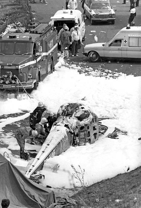 Tuhoisa helikopterionnettomuus vuonna 1984 vaati viiden ihmisen hengen.