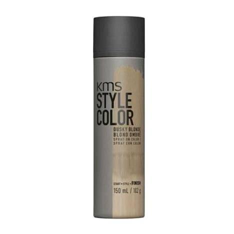 KMS Stylecolor -värisuihke lähtee pois shampoopesussa, 30 € / 150 ml.