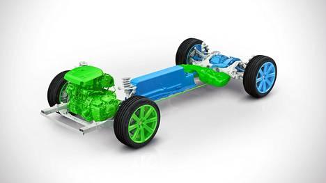 Volvon uuden 3-sylinterisen moottorin kehitysohjelma on jo pitkällä.