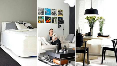 Muotoilija Miia Suvi näki heti uuden kotinsa potentiaalin pikkuvirheiden alta.
