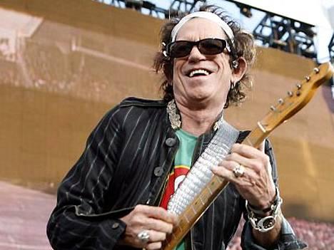 Keith Richards on globaali ikoni, Louis Vuittonin viestintäpäällikkö hehkuttaa.