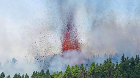 Espanjassa nähdään myös purkautuvan tulivuoren mahdolliset matkailuhyödyt.