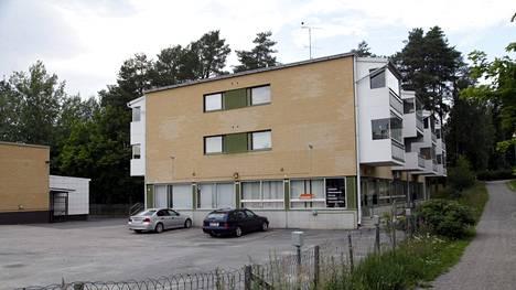 Kaupunginvaltuutettu Pekka Katajan kotitalo Jämsän Jämsänkoskella.