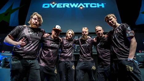 Suomalainen Ninjas in Pyjamas -joukkue on yksi Overwatchin ykkösnimistä.