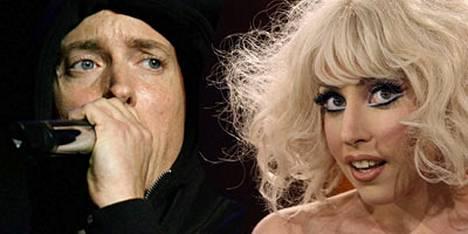 Eminem on löytänyt uuden vihoittelukohteen Lady Gagasta.