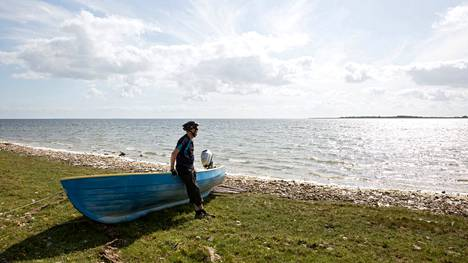 Kuva Vormsin saarelta, joka sijaitsee Haapsalua vastapäätä ja jolta vapaaehtoiset meripelastajat tulivat pelastamaan merihätään joutuneen suomalaismiehen.