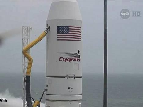 Cygnus tavoittaa ISS:n keskiviikkona.
