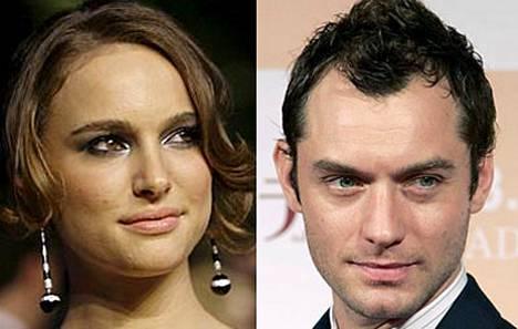 Natalie Portmanin ja Jude Law¿n huhutaan viihtyvän hyvin yhdessä.