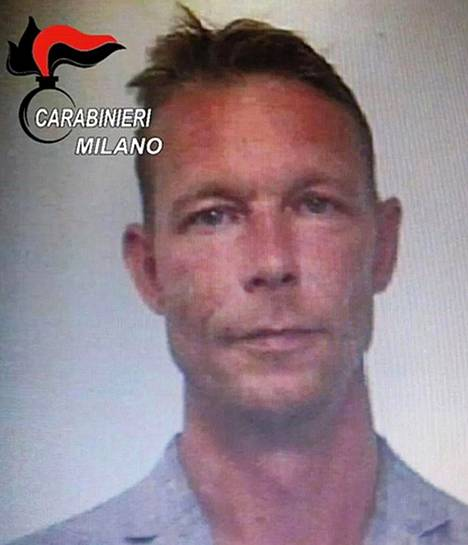 Christian Brückner pidätettiin Milanossa 2018. Hänen rikoshistoriansa on laaja, mutta miestä ei ole tuomittu henkirikoksista.