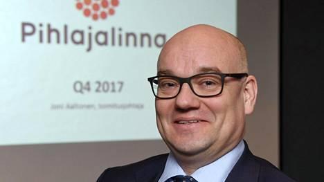 Pihlajalinnan toimitusjohtaja Joni Aaltonen.