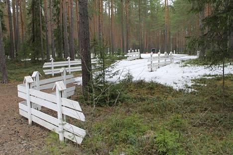 Säilyneiden asiakirjojen mukaan Äänisenrannan Krasnyi Borissa teloitettiin 1196 ihmistä: suomalaisia 580, karjalaisia 432 ja muita kansallisuuksia 184.