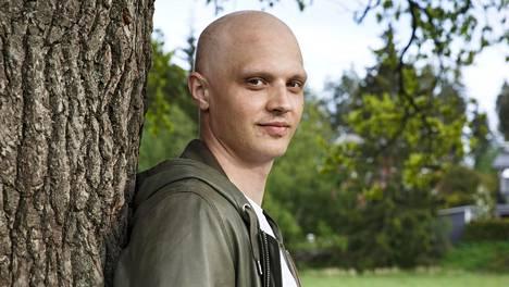 Kristian Näkyvä viettää nyt alkukesää kotonaan Vantaalla.