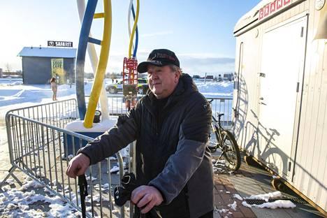Suomen ja Ruotsin kansalainen Reino Rissanen ei ymmärrä Suomen hallituksen rajayhteisöön suuntaamia rajoituksia.