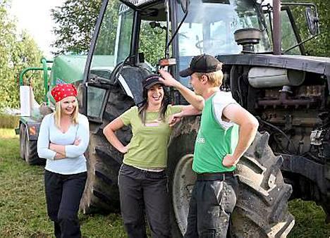 Viime maajusseissa Heidi ja Emma kilpailivat Juhan suosiosta.