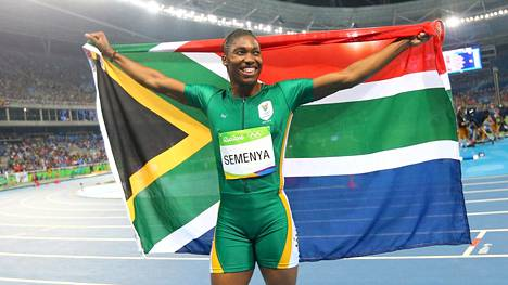 Caster Semenya irtosi selvään olympiavoittoon naisten 800 metrillä.