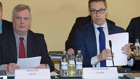Kokoomuksen puheenjohtaja ja Suomen pääministeri Alexander Stubb esitti poliittisia näkökantojaan The Financial Timesille.