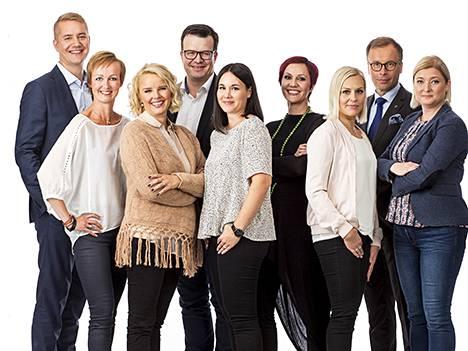 Kämp Collection Hotelsin uudet johtajat.
