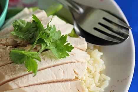 Valkoinen dieetti on kehitetty sairaaloissa. Siihen kuuluu muun muassa kanaa ja riisiä.