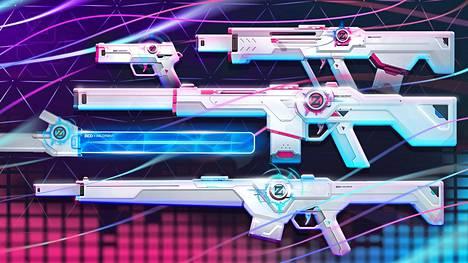 Spectrum-malliston aseet näyttävät tältä ilman lisämaksullisia päivityksiä.