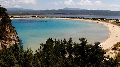 Costa Navarinon maisemissa on erinomaiset uintimahdollisuudet.