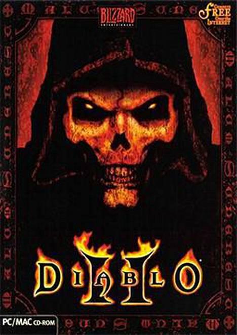 Tällaisessa laatikossa Diablo II tuli pelaajien käsiin.