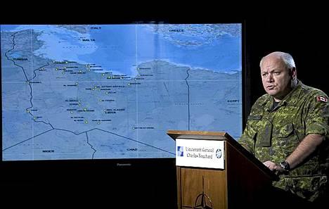 Ilmaoperaatiota johti kanadalainen kenraaliluutnantti Charles Bouchard.