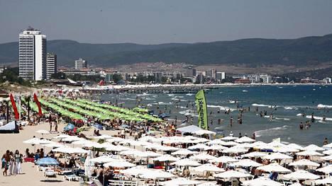 Bulgarian Sunny Beach on vuodesta toiseen yksi edullisimmista äkkilähtökohteista.