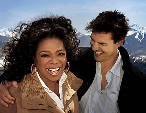 Tom Cruise esiintyi Oprahin showssa vaihteeksi hillitysti.