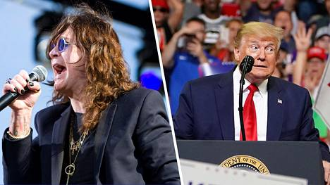 Ozzy Osbournen musiikkia ei saa enää soittaa Donald Trumpin tapahtumissa.