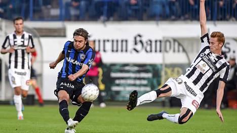 TPS ja Inter kohtasivat edellisen kerran Veikkausliigassa kaudella 2014.