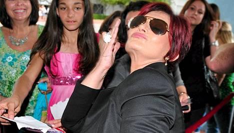 Sharon Osbourne vannoo, ettei enää mene kauneusleikkauksiin.