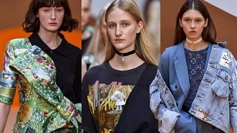Muumi-kuosiset vaatteet sopivat hyvin vallitsevaan printtitrendiin.