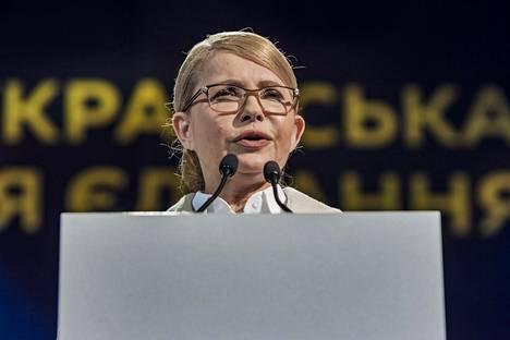 Entinen pääministeri Julia Tymosheko taistelee pääsystä toiselle kierrokselle. Joidenkin mielipidetutkimusten mukaan hänellä saattaisi olla mahdollisuus ohittaa istuva presidentti Petro Poroshenko.