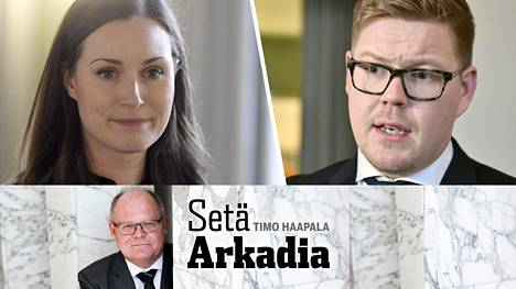 Seuraava demaripääministeri on joko Sanna Marin tai Antti Lindtman.
