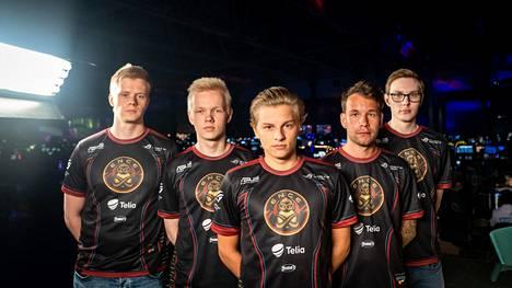 ENCEn kokoonpano (v-o):o Jani Jussila, Jere Salo, Aleksi Virolainen, Aleksi Jalli & Sami Laasanen.