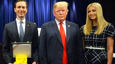 Trump harkitsee vävypoikaansa Valkoisen talon kansliapäälliköksi