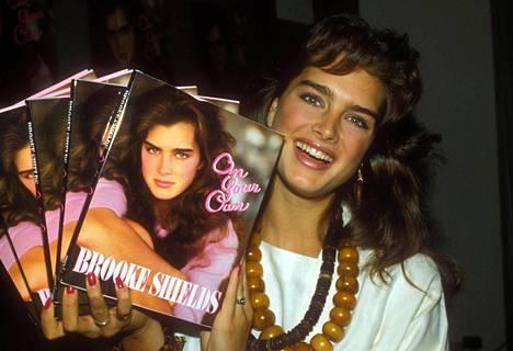 Brooke Shields 20-vuotiaana vuonna 1985.